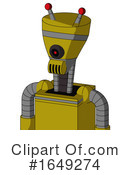 Robot Clipart #1649274 by Leo Blanchette