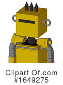Robot Clipart #1649275 by Leo Blanchette
