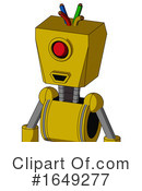 Robot Clipart #1649277 by Leo Blanchette