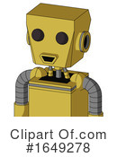 Robot Clipart #1649278 by Leo Blanchette