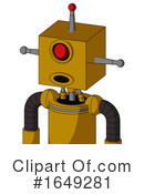 Robot Clipart #1649281 by Leo Blanchette