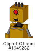 Robot Clipart #1649282 by Leo Blanchette