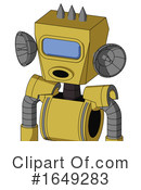 Robot Clipart #1649283 by Leo Blanchette
