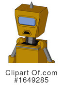 Robot Clipart #1649285 by Leo Blanchette