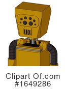 Robot Clipart #1649286 by Leo Blanchette