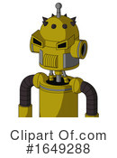 Robot Clipart #1649288 by Leo Blanchette