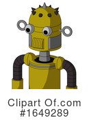 Robot Clipart #1649289 by Leo Blanchette