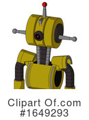 Robot Clipart #1649293 by Leo Blanchette
