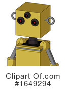 Robot Clipart #1649294 by Leo Blanchette