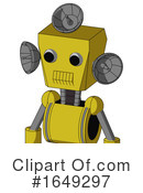 Robot Clipart #1649297 by Leo Blanchette