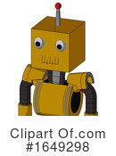Robot Clipart #1649298 by Leo Blanchette