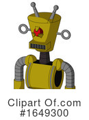 Robot Clipart #1649300 by Leo Blanchette