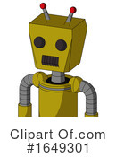 Robot Clipart #1649301 by Leo Blanchette