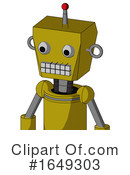 Robot Clipart #1649303 by Leo Blanchette