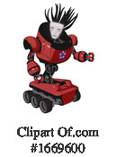 Robot Clipart #1669600 by Leo Blanchette