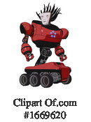 Robot Clipart #1669620 by Leo Blanchette