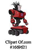 Robot Clipart #1669621 by Leo Blanchette