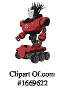 Robot Clipart #1669622 by Leo Blanchette