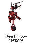 Robot Clipart #1670106 by Leo Blanchette