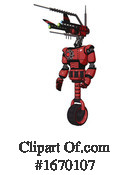 Robot Clipart #1670107 by Leo Blanchette