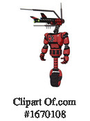 Robot Clipart #1670108 by Leo Blanchette