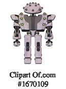 Robot Clipart #1670109 by Leo Blanchette