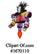 Robot Clipart #1670110 by Leo Blanchette