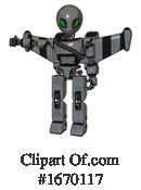 Robot Clipart #1670117 by Leo Blanchette