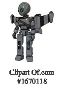 Robot Clipart #1670118 by Leo Blanchette