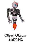 Robot Clipart #1670142 by Leo Blanchette