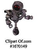 Robot Clipart #1670149 by Leo Blanchette
