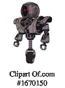 Robot Clipart #1670150 by Leo Blanchette