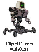 Robot Clipart #1670151 by Leo Blanchette