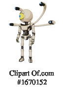 Robot Clipart #1670152 by Leo Blanchette