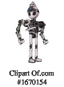 Robot Clipart #1670154 by Leo Blanchette