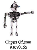 Robot Clipart #1670155 by Leo Blanchette