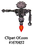 Robot Clipart #1670852 by Leo Blanchette