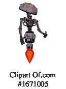Robot Clipart #1671005 by Leo Blanchette
