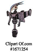 Robot Clipart #1671254 by Leo Blanchette