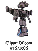 Robot Clipart #1671606 by Leo Blanchette