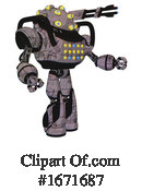 Robot Clipart #1671687 by Leo Blanchette