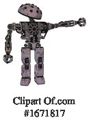 Robot Clipart #1671817 by Leo Blanchette