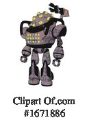 Robot Clipart #1671886 by Leo Blanchette