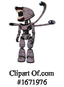 Robot Clipart #1671976 by Leo Blanchette