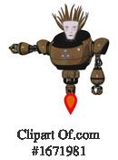 Robot Clipart #1671981 by Leo Blanchette