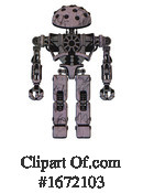 Robot Clipart #1672103 by Leo Blanchette