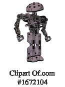 Robot Clipart #1672104 by Leo Blanchette