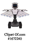 Robot Clipart #1672240 by Leo Blanchette