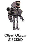 Robot Clipart #1672260 by Leo Blanchette
