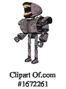 Robot Clipart #1672261 by Leo Blanchette